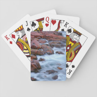 Rocky shoreline with water, Canada Playing Cards