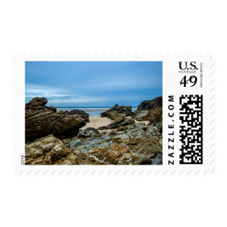 Rocky Shores - Postage Stamp
