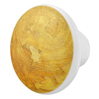 Rocky Stone Ceramic Knob