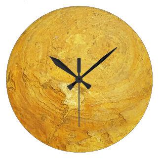 Rocky stone Round Clock