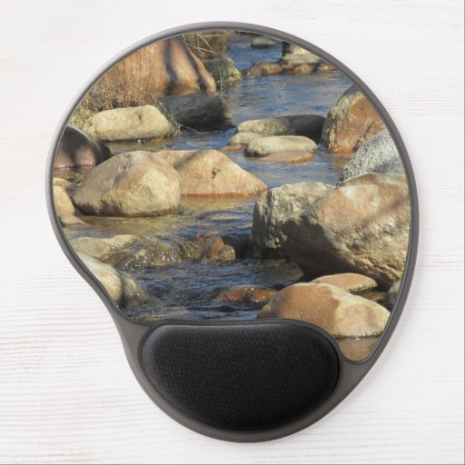 Rocky Stream Gel Mouse Pads