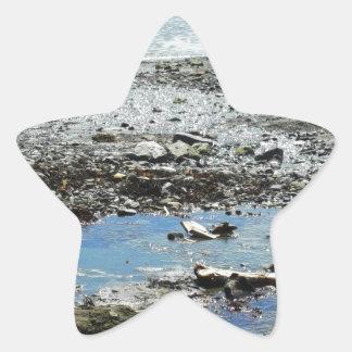 Rocky Stream Star Sticker