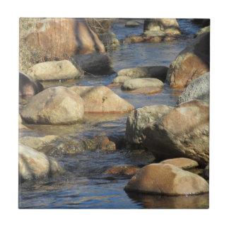 Rocky Stream Ceramic Tile