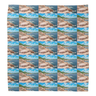Rocky Summer Seascape Acadia National Park Maine Bandana