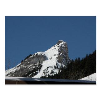 Rocky summit, Gimmelwald, Jungfrau,Switzerland Postcard