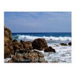 Rocky Surf, Crystal Cove State BeachCorona Del ... Postcard
