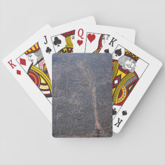 Rocky Terrain Poker Cards