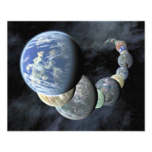 Rocky, terrestrial worlds photo