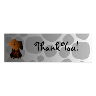 Rocky Thank You Card