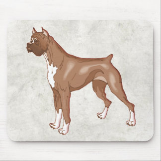 Rocky the Boxer Dog Mouse Pad