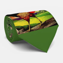 Rocky the Handsome Rooster Tie