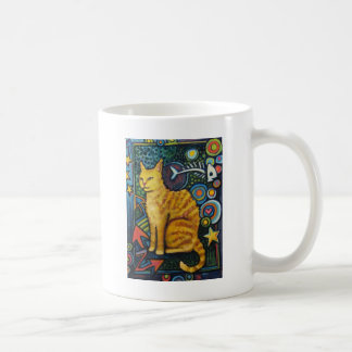 Rocky, The Rock Star Cat Products Coffee Mug