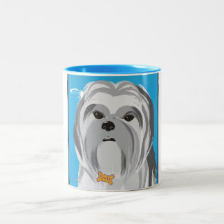 Rocky Two-Tone Coffee Mug