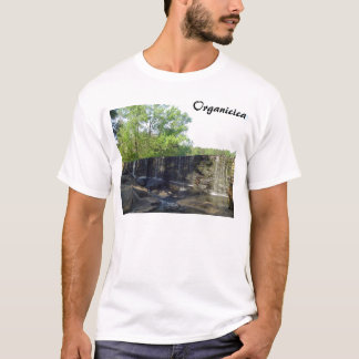 Rocky Waterfall at Yates Mill T-Shirt