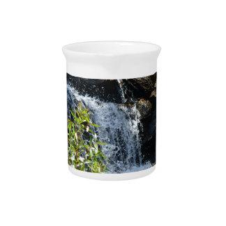 Rocky Waterfall Beverage Pitcher