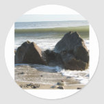 Rocky wave sticker