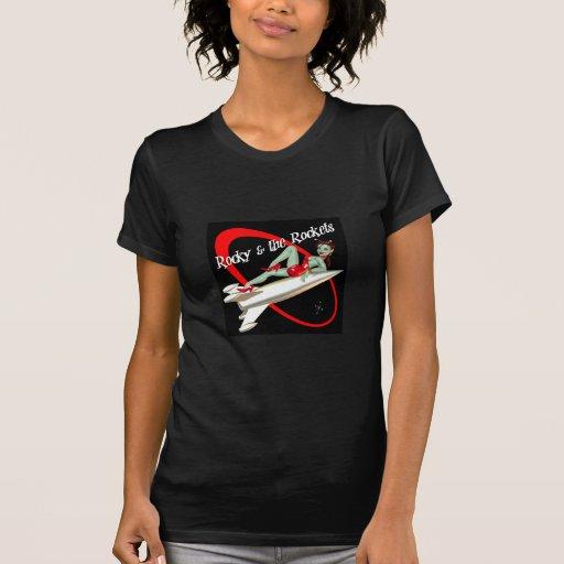 Rocky y la camiseta de las señoras de Rockets