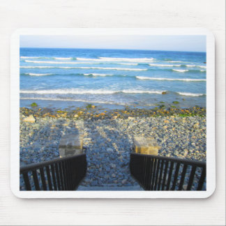 Rocky York Beach Access Mouse Pad