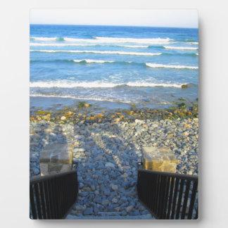 Rocky York Beach Access Plaque