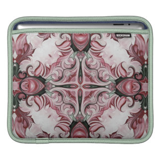 rococo red rosette No.111 Sleeve For iPads