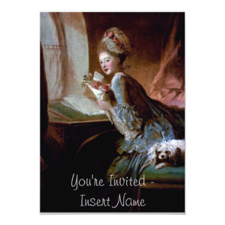 Rococo Style Card