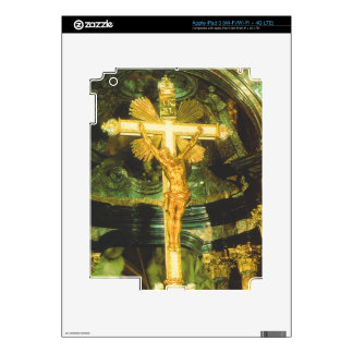 Rococo style crucifix in a Bavarian Church Decal For iPad 3
