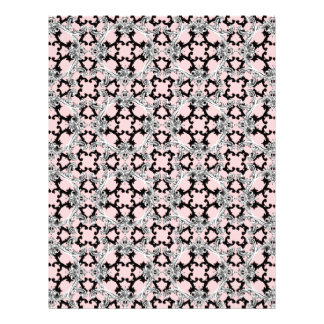 Rococo Swag ~ Dauphine Pink Letterhead