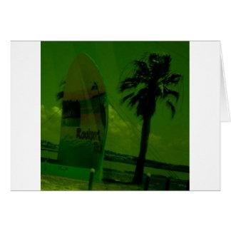 Rocport Beach Shell Card