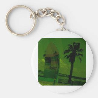 Rocport Beach Shell Keychain