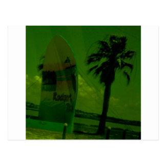 Rocport Beach Shell Postcard