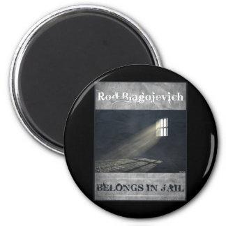 Rod Blagojevich 2 Inch Round Magnet