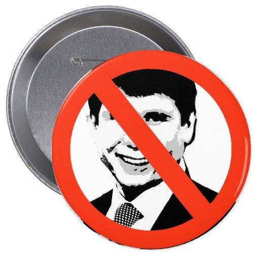 Rod Blagojevich 2 Pin Redondo 10 Cm