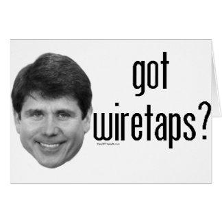 Rod Blagojevich Got Wiretaps Card