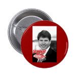 Rod Blagojevich/tarjeta del día de San Valentín Pins