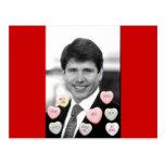 Rod Blagojevich Valentine Postcard