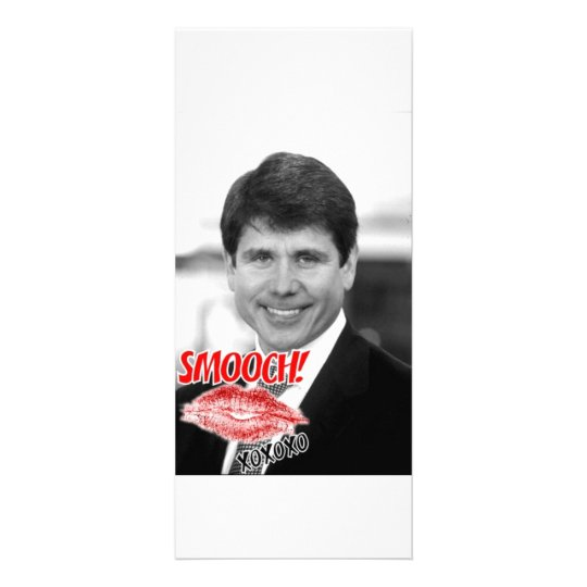 Rod Blagojevich Valentine Rack Card