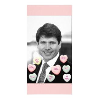 Rod Blagojevich Valentine's Day Card