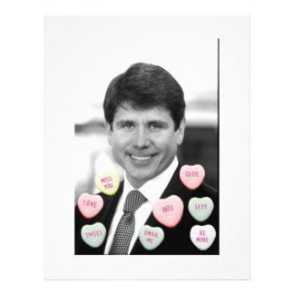 Rod Blagojevich Valentine's Day Flyer