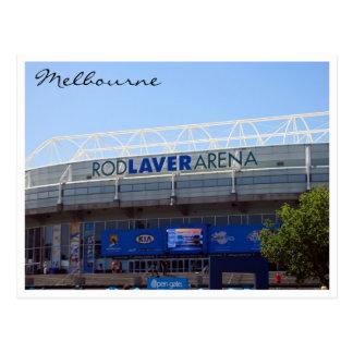 rod laver arena postcard