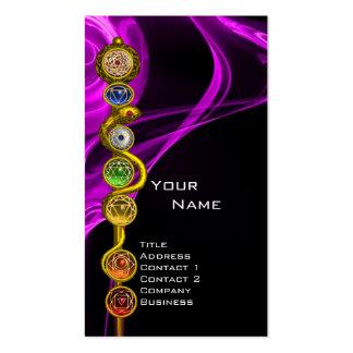 ROD OF ASCLEPIUS,7 CHAKRAS ,YOGA,SPIRITUAL ENERGY BUSINESS CARD