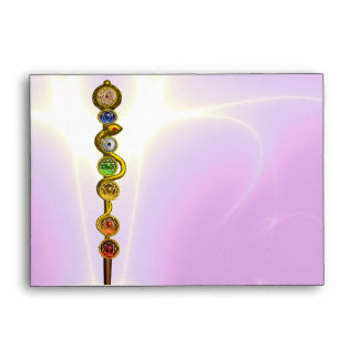 ROD OF ASCLEPIUS,7 CHAKRAS,YOGA ,SPIRITUAL ENERGY ENVELOPE