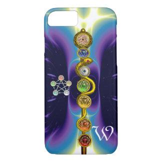 ROD OF ASCLEPIUS 7 CHAKRAS,YOGA ,SPIRITUAL ENERGY iPhone 7 CASE