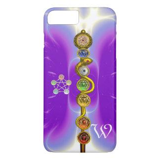 ROD OF ASCLEPIUS 7 CHAKRAS,YOGA ,SPIRITUAL ENERGY iPhone 7 PLUS CASE