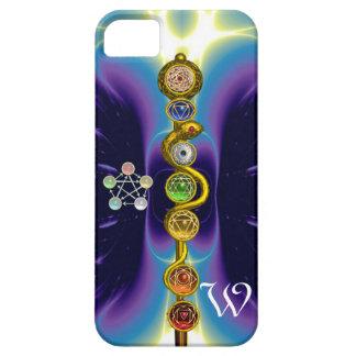 ROD OF ASCLEPIUS 7 CHAKRAS,YOGA ,SPIRITUAL ENERGY iPhone SE/5/5s CASE