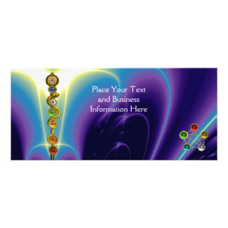 ROD OF ASCLEPIUS,7 CHAKRAS,YOGA ,SPIRITUAL ENERGY RACK CARD