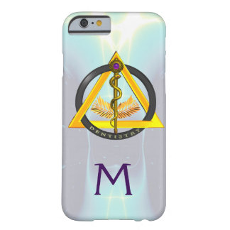 ROD OF ASCLEPIUS DENTIST DENTISTRY MONOGRAM BARELY THERE iPhone 6 CASE