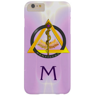 ROD OF ASCLEPIUS DENTIST DENTISTRY MONOGRAM BARELY THERE iPhone 6 PLUS CASE