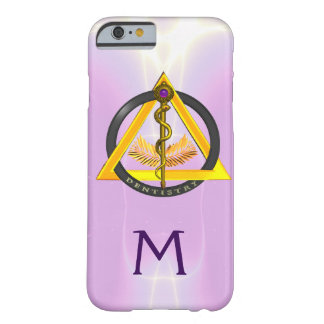 ROD OF ASCLEPIUS DENTIST DENTISTRY MONOGRAM iPhone 6 CASE