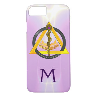 ROD OF ASCLEPIUS DENTIST DENTISTRY MONOGRAM iPhone 7 CASE