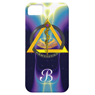 ROD OF ASCLEPIUS DENTIST DENTISTRY MONOGRAM iPhone SE/5/5s CASE